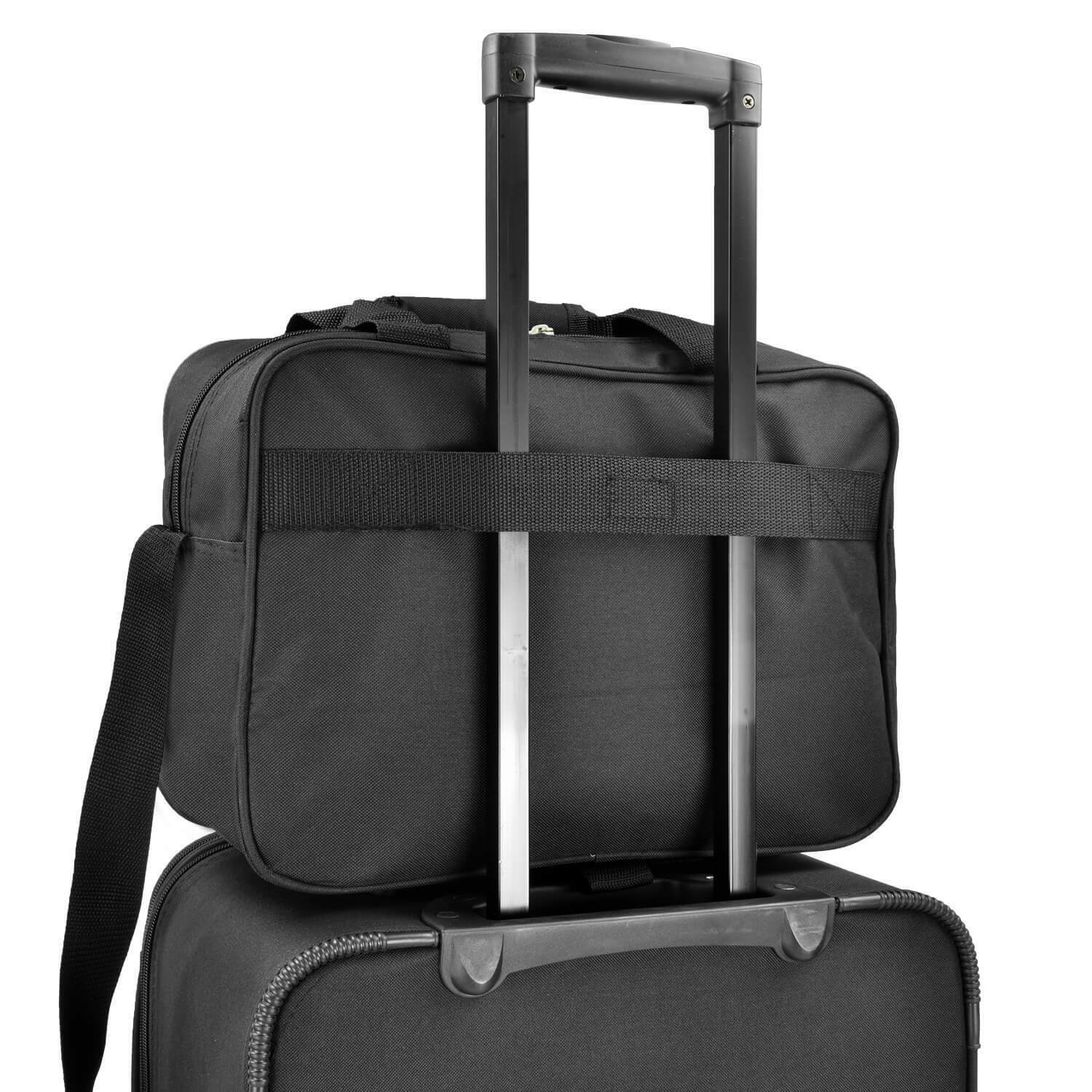 Us Traveler Black New Yorker 3 Piece Expandable Rolling Luggage Suitcase Bag Set For Sale Online