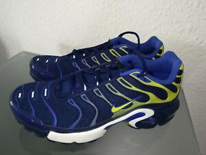 Details zu Nike Air Max TN Plus GS 655020 407 Herren Sport Blau Sneakers Schuhe Neu Gr.36,5