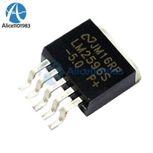5PCS NEW NSC LM2596 LM2596S-5.​0  TO-263 Voltage Regulator IC