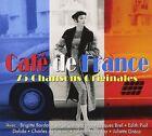 CAFE DE FRANCE - CHARLES AZNAVOUR, EDITH PIAF, JAQUES BREL - 3 CD NEU