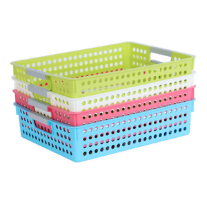 Image Is Loading Clroom Kitchen Closet Organizer Book Storage Baskets Bins