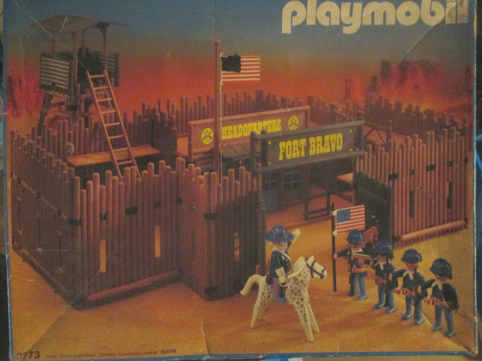Playmobil 3773 Western Fort Bravo Fort Randall in OVP