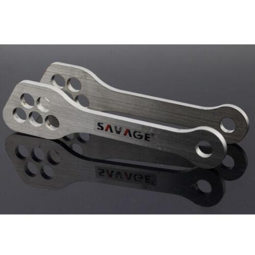 For SUZUKI GSX1300R HAYABUSA 1999-2020 Rear Suspension Lowering Links Kit
