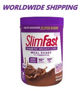 Slim-Fast-Diabetic-Weight-Loss-Chocolate-Milkshake-12-8-Oz-WORLDWIDE-SHIPPING