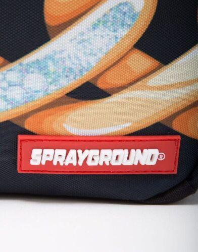 Sprayground Diamonds In Paris Gold Jewelry Book Bag Backpack 910B1082NSZ