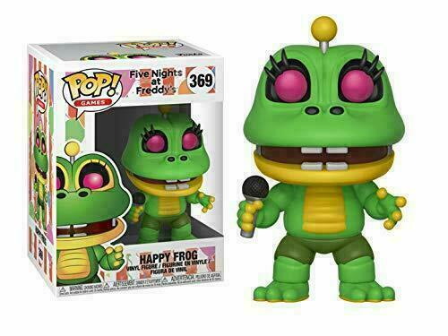 Vinyl Happy Frog Funko POP Five Nights at Freddy/'s FNAF Pizza sim