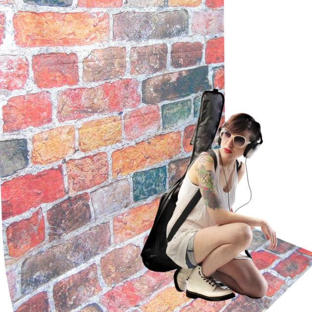 Fond Tissu Studio Photo Video DynaSun RMS70 Motif Bricks