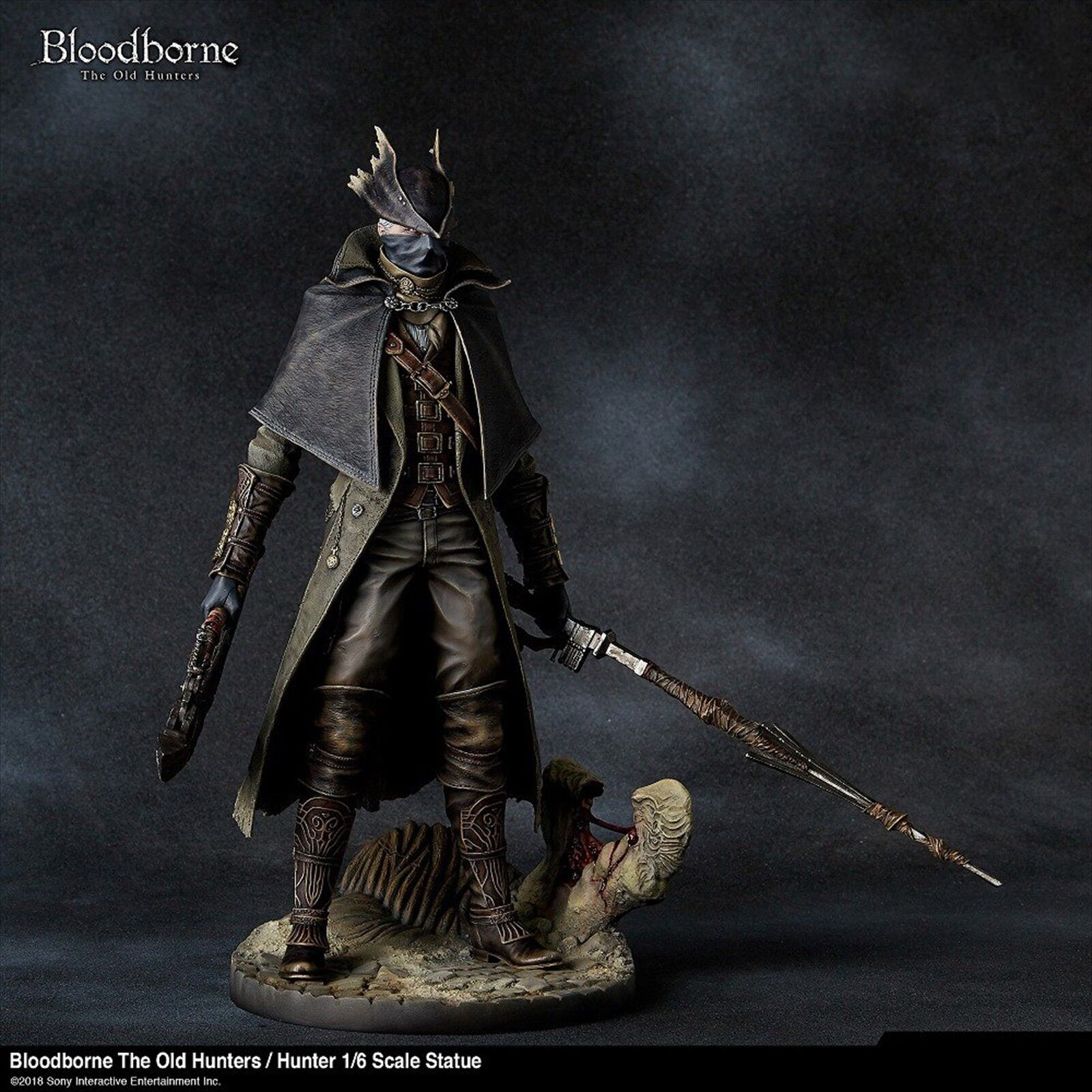 Bloodborne Figure 512284 The The The Old Hunters A hunter 1 6 scale Statue 14a0e4