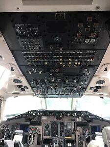 MD-88 Flight Deck Upper Control Module/ Control Panel