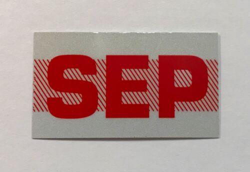 California License Plate Registration Sticker DMV SEP September
