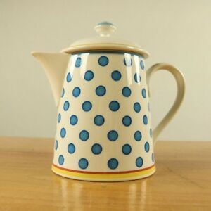 Kaffeekanne-1-2L-Twist-Anna-V-amp-B-Porzellan-Villeroy-amp-Boch-Top-Zustand