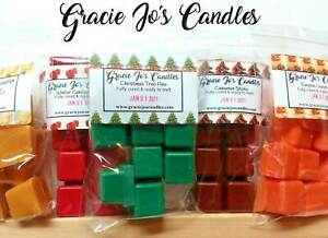 CHRISTMAS MORNING Soy Wax Melts Bulk Order Scented Wax Cubes Wholesale Soy Candle Melt Scented Soy Tarts