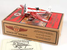 """1930 TRAVEL AIR MODEL R """"MYSTERY SHIP"""" WINGS OF TEXAS IN ORIG. BOX"""
