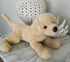 Douglas Stuffed Animal Dog Puppy Plush Yellow Labrador Collectible
