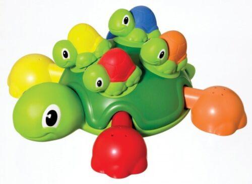 Ab 12 Monate Tomy Badespaß Bade Set Schildkröten Mama mit 4 Kindern Plansch Spaß
