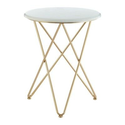 Lexi Round Side Table With Hairpin Legs Stylish Sophistication Trio Looped Legs 5018705414546 Ebay