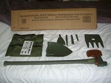 Military Max Tool Jeep 4X4 Ax Shovel Survival Hunting Tools NIB