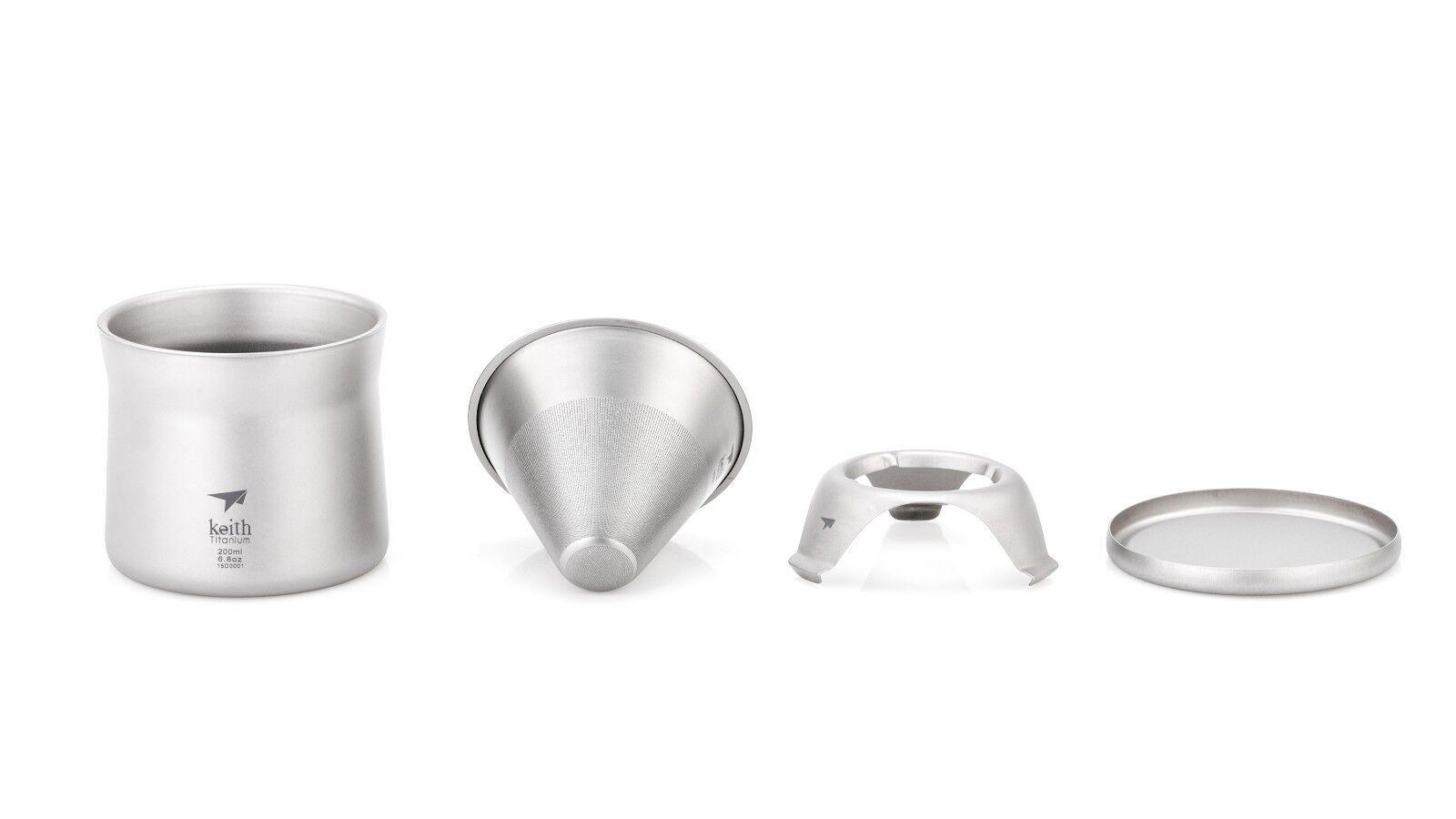 Keith titanium Ti3911 Mini café y té Maker (enviado desde EE. UU.)