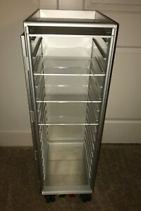 Details about ATLAS Acrylic Shelves for Aircraft Galley Cart Airline Food  Drink Bar Trolley