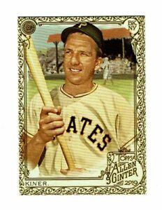 2019 Topps Allen & Ginter Gold #88 Ralph Kiner Pittsburgh Pirates