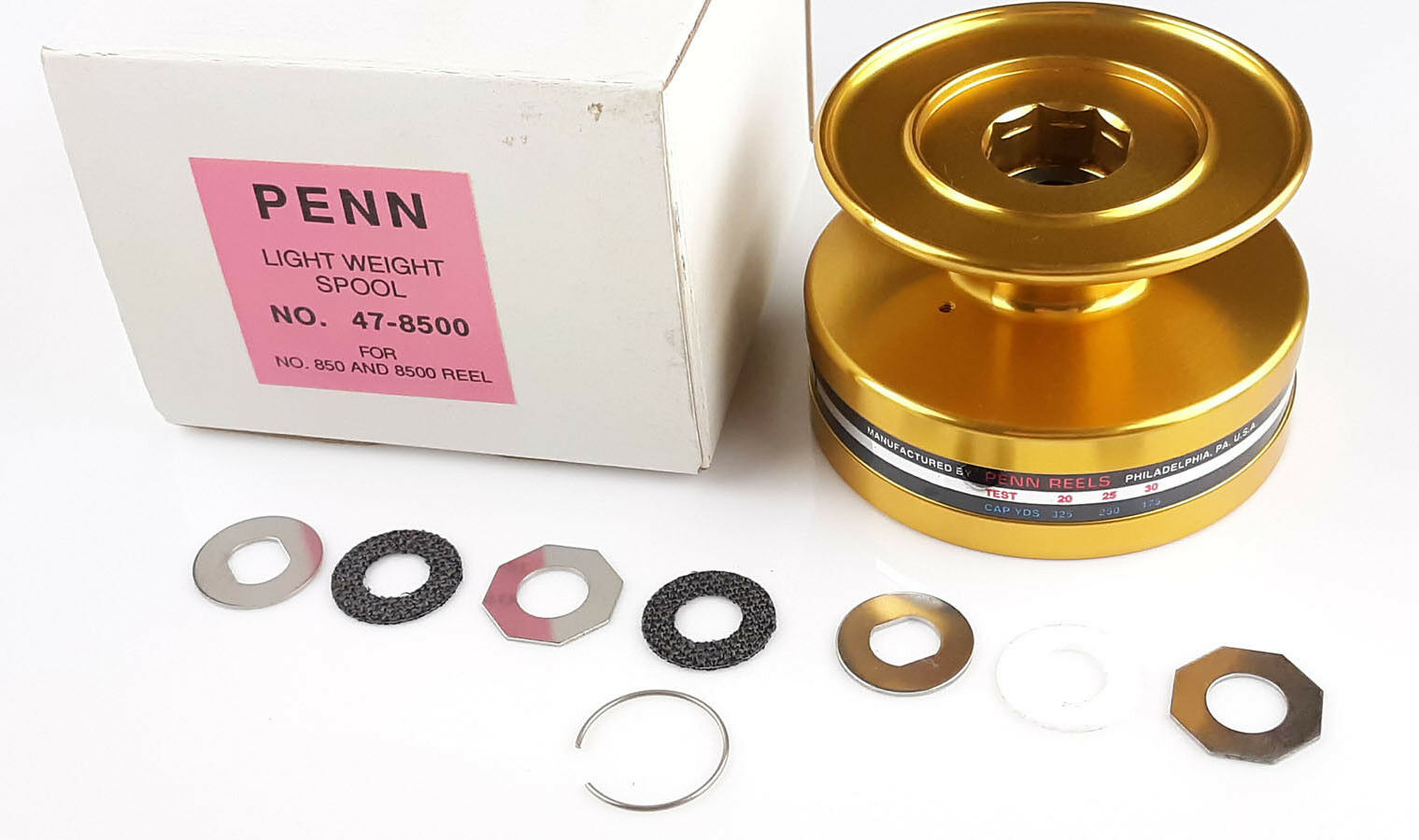 Penn 850SS 8500SS Spool Assembly Spinfisher Reel Part w  HT100 Drags