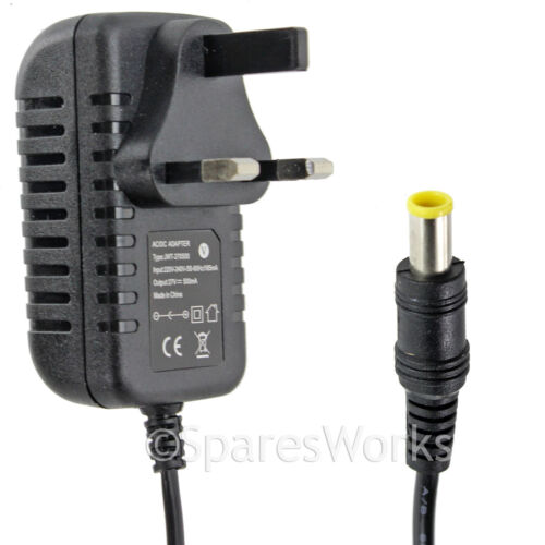 Mains Battery Charger Plug Cable Lead for GTECH ST20 HT20 Grass Hedge Trimmer