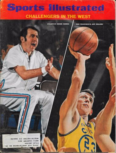 Sports Illustrated 1969 JEFF MULLINS Golden State RICHIE GUERIN Atlanta NO LABEL
