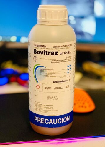 Bovitraz 12.5 /% I litter bottles double seal