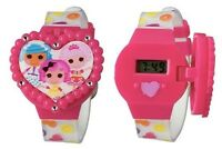 Lalaloopsy Girls Lcd Watch With Molded Flip Top -new