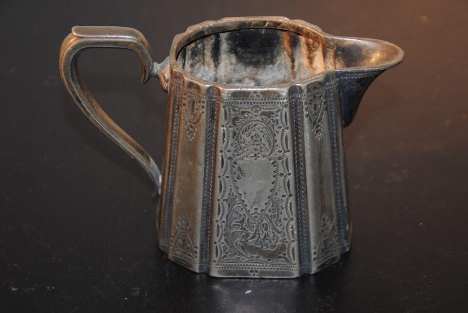 Sølvtøj, antik kande, formentlig engelsk