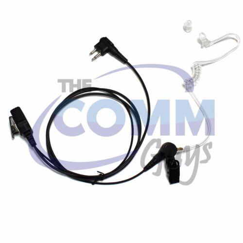 PTT MIC WALKIE 1-WIRE KIT EARPIECE FOR MOTOROLA CLS CP200 RDX RDU RADIOS