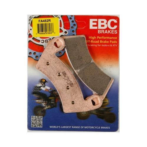 EBC R Front Brake Pads for Polaris 14-17 RZR XP 1000 13-15 Ranger XP 900 FA452R