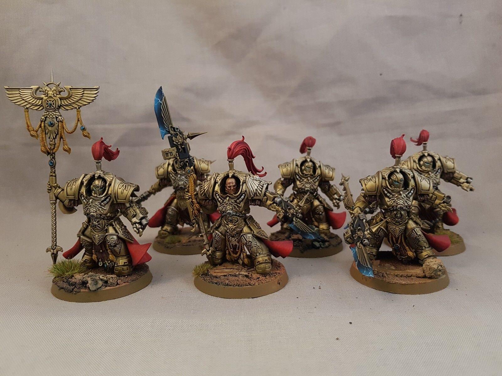 Adeptus  custodes allarus Terminators painted  exclusif