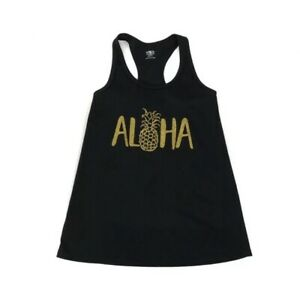 Aeropostale Womens Aloha Hawaii Tank Top