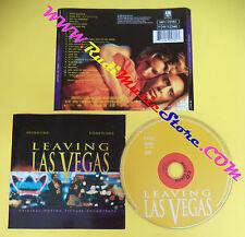 CD SOUNDTRACK Leaving Las Vegas 540 476-2 UK 1995 no lp mc dvd vhs(OST4)