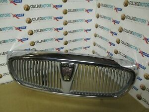 ROVER-75-MK1-PRE-FACELIFT-99-04-FRONT-CHROME-RADIATOR-GRILL-ASSEMBLY-USED