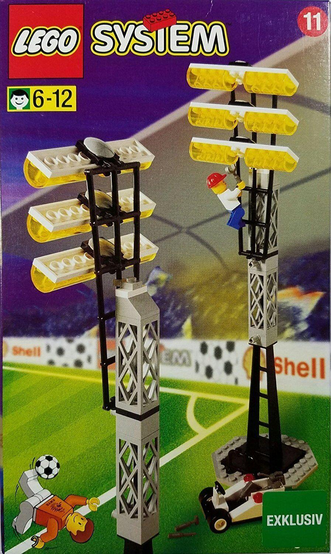 LEGO® System Fußball 3313 Flutlichtmasten NEU ungeöffnet RARITÄT