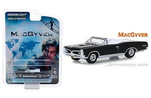 Greenlight 1//64 1967 Pontiac GTO Convertible MacGyver Hollywood Series 24 44840F