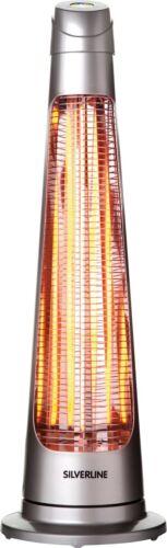HEIZGERÄT SILVERLINE 1200W 90° SCHWENKBAR 2 STUFEN WÄRMESTRAHLER WÄRME STRAHLER