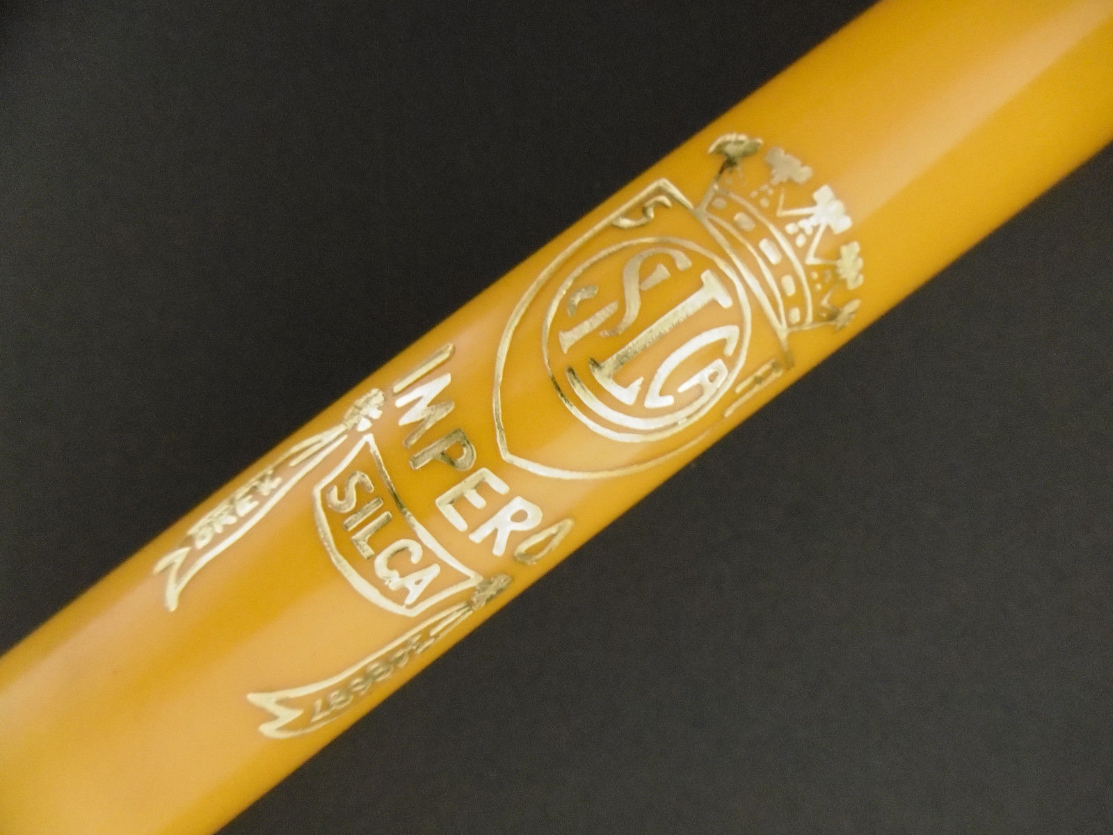 New pump Silca Impero Brevettato  road bicycle bike yellow  presta dunlop 520mm  your satisfaction is our target