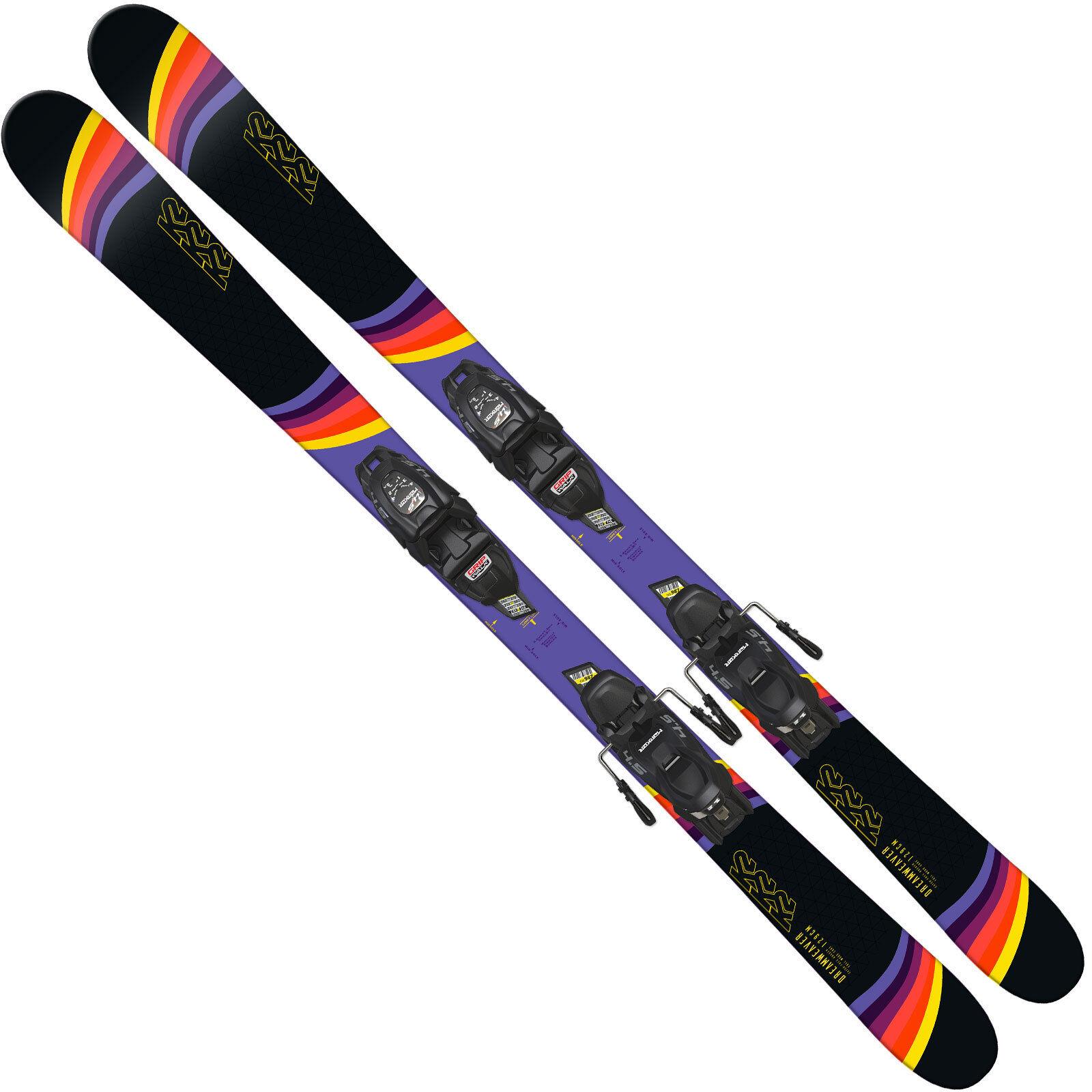 K2 Dreamweaver Jr Esquís para Niños Incl. Fdt 4.5 7 Fijación Juego de Esquí