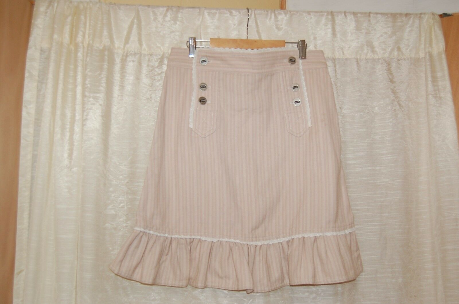 Marc Jacobs Beige Cotton Skirt Size 4