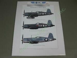 Top-USMC-Corsair-Aces-WWII-F4U-Fighter-Bomber-Airplane-Art-Print-Pappy-Boyington