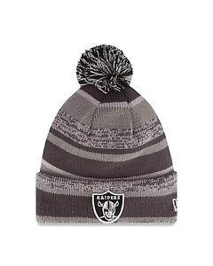 huge sale eb7b6 3d87f Image is loading NFL-2014-New-Era-Oakland-Raiders-Graphite-Sport-