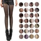 Sexy Women Multi-Patterns Black Fishnet Jacquard Net Pantyhose Tights Stockings