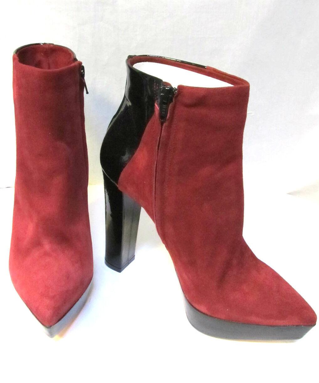 Sz 39   8.5 ARTHUR GALAN all leather heels sexy Ankle Boots NIB