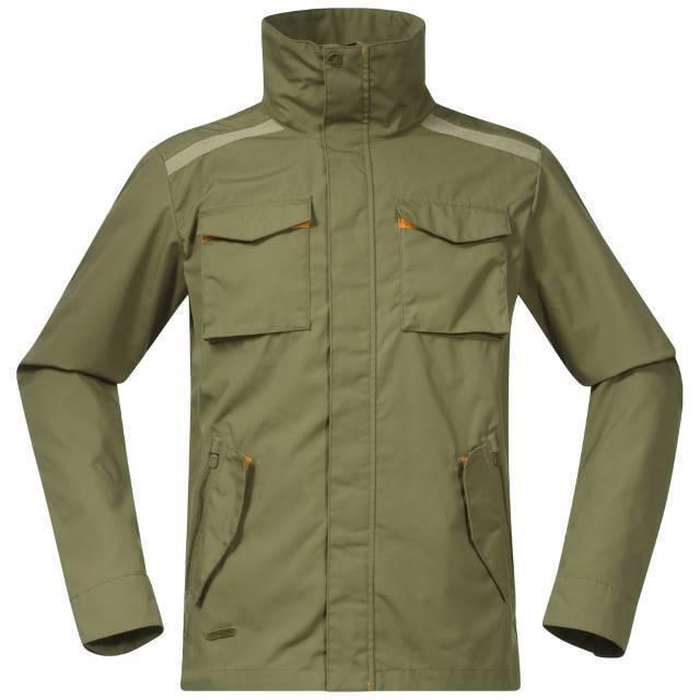 Bergans di transizione giacca Larvik Jacket Uomo khakiverde div. dimensioni NUOVO