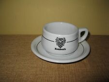 Vintage Rombouts Thomas White Coffee Cup*Saucer*mug Restaurant Germany Verbeelen