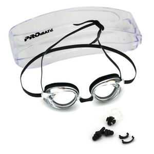 d07bfcd4230c Image is loading Promate-Rx-Prescription-Nearsighted-Optical-Swimming-Goggle -Anti-