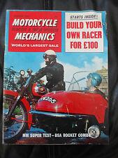 Motorcycle Mechanics, Scooter & 3 Wheeler Jan '67, BSA Rocket Combo, Honda & Mor